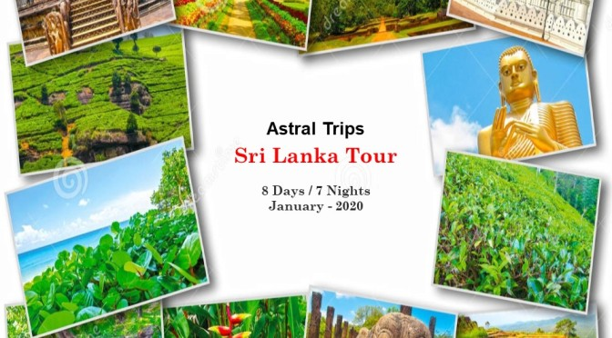 Sri Lanka Group Tour – Jan'20