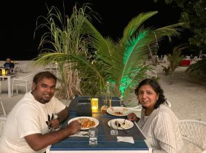 Ekta & Rahul at Maldives